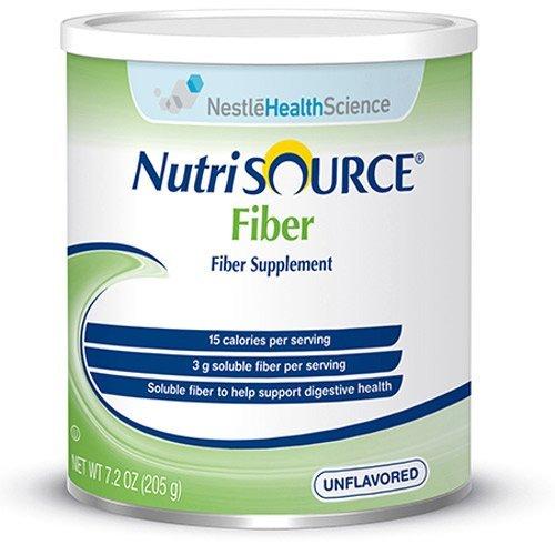 NutriSOURCE Fiber Supplement - 7.2 oz Canisters (powder) - Case of 4 - NES97551SND282100