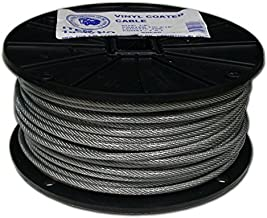 T.W Evans Cordage 18-601 Ctd Cable, 1/4-5/16-Inch x 200-Feet