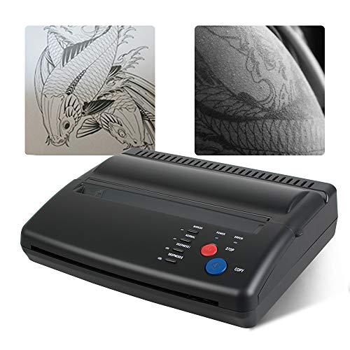 Tattoo Transfer Stencil Machine Pro Thermal Copier Printer Tattoo Transfer Printer Copy Stencil Machine Stencil Paper Maker Black