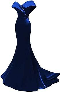 Women's Off The Shoulder Mermaid Prom Dress Long Evening Dress
