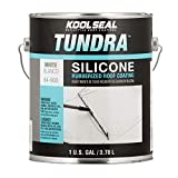 100% Silicone Roof Coating White Can, 1 Gal