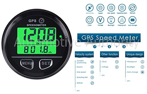 GPS Speedometer Gauge Odometer Battery Meter Digital Dash For ATV UTV Motorcycle Automobile Motor Vehicle