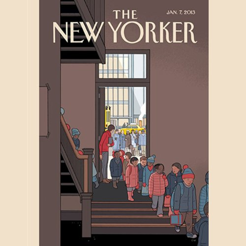 The New Yorker, January 7th 2013 (Adam Green, Lauren Collins, Hendrik Hertzberg) cover art