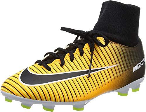 Nike Mercurial Victory VI Dynamic Fit Fg, Scarpe da Calcio Uomo, Arancione (Laser Orange/Black-White-Volt), 36 EU