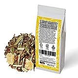 Té Rooibos. Adelgazante. Blend. Con Rooibos Super Grade (38%), mate verde, té verde, té blanco, citronela, piña. Ayuda a Eliminar Líquidos. Antioxidante. 100 g.