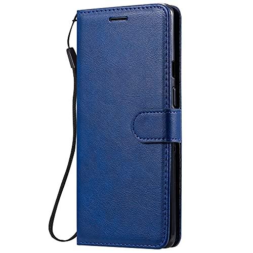 HUANGTAOLI Custodia per LG K20, Portafoglio in Pelle Custodia a Libro Supporto Magnetica Cover per LG K20 (LMX120EMW, 5.45')