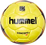 hummel Kinder Fußball 1.0 Concept Plus, Yellow/Black/Fiery Coral, 4