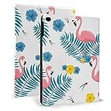 AQQA Coque Ipad personnalisée Flamingo Rose Accessoires de Mode Etui de Protection pour Ipad pour...