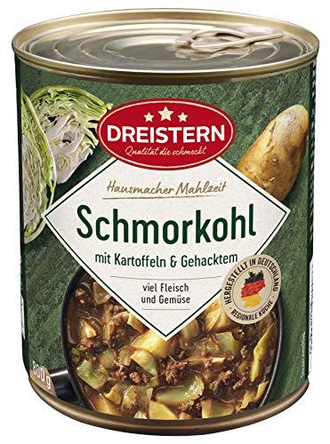 Dreistern Schmorkohl mit Kartoffeln, 800 g