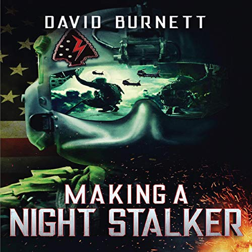 Making a Night Stalker audiobook cover art