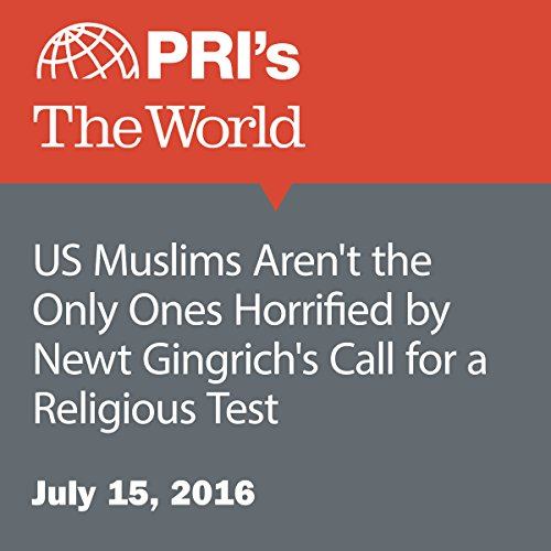 US Muslims Aren't the Only Ones Horrified by Newt Gingrich's Call for a Religious Test cover art