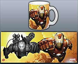 Mug Iron Man Serie 1 Invincible Duo