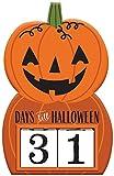 amscan Halloween Down Sign Orange 1.0 Count