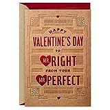 Hallmark LGBT Valentine's Day Card for Husband or Boyfriend (Mr. Right)