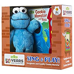 Image: Sesame Street | Cookie Monster and You | Music Sound Book and Cookie Monster Plush | PI Kids Board book: 8 pages | by Riley Beck (Author), Editors of Phoenix International Publications (Editor), Tom Brennon (Illustrator). Publisher: Phoenix International Publications, Inc. (June 18, 2019)