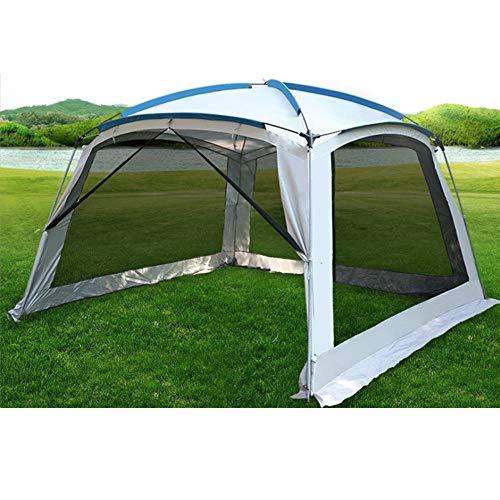 Forall-Ms Gazebo Portatile All'aperto 3X3m con Lati in Mesh,Tenda Impermeabile Tenda da Giardino Riparo da Campeggio Estivo per Bebè,L