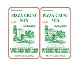 Weisenberger Pizza Crust Mix, 6.5-Ounce - Premade Pizza Dough Flour for Homemade Pizza, Breadsticks, Flatbread, or Calzones - 2 pack