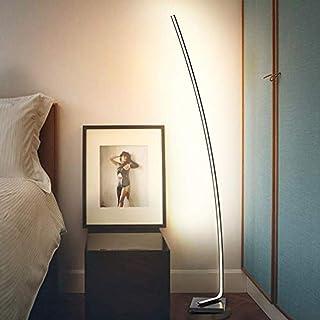 Lampadaire ARC XL chrome design déporté lampe arquée pied