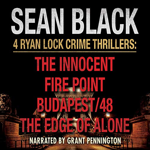 4 Ryan Lock Crime Thrillers cover art