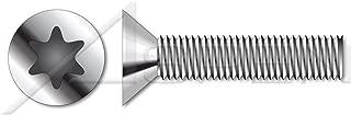 (4500 pcs) M3-0.5 X 8mm, ISO 14581, Metric, Machine Screws, Flat Head Torx(r) Drive, A2 Stainless Steel