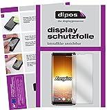 dipos I 2X Schutzfolie klar kompatibel mit Energizer Powermax P600S Folie Bildschirmschutzfolie