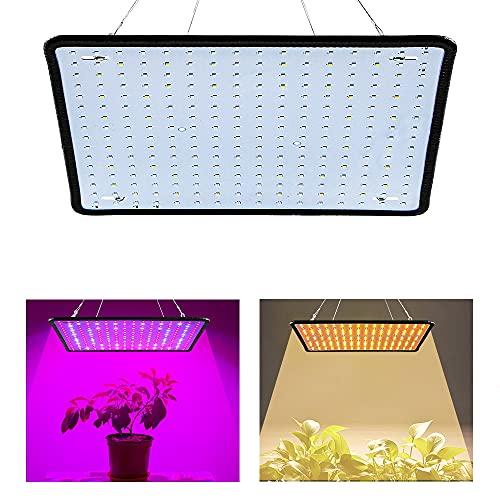 BrightBulb AC85-265V 35W 256LED Ultra Sottile Spettro Completo/Luce Solare LED Grow Light Quantum Plant Light-EU Spina Sole Luce