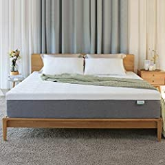COOL & HIGHLY BREATHABLE- Novilla king size mattress constructed with a 4-layer all-foam system. The foam mattress on top is a gel-infused memory foam that keeps you cool. The egg crate designed foam layer increases airflow through all areas of this ...