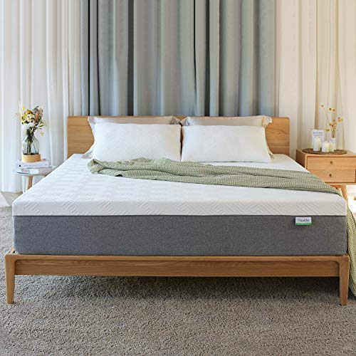 Novilla Queen Size Mattress, 12 inch Gel Memory Foam Mattress for a Cool Sleep & Pressure Relief, Medium Firm Feel with Motion Isolating, Bliss