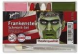 Jofrika 'Halloween–Set de maquillaje Frankenstein (4colores con pincel–Imprimación + abschminke) Theater Calidad