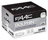 Faac Dolphin Kit Automazione Elettromeccanica 24V Attuatore D600 Soffitto Porte Basculanti Cancello Garage 10566444