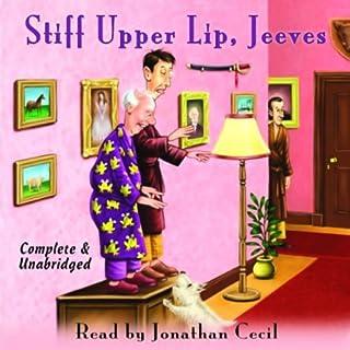 Stiff Upper Lip, Jeeves audiobook cover art