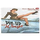 Blived Rompecabezas de 1000 Piezas,Rompecabezas de imágenes,Pin-up Wings 2 - Silvester Juguetes Puzz...