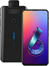 ASUS ZenFone 6 (ZS630KL) 6.4 inchs with 8GB RAM / 256GB Storage, (GSM ONLY, NO CDMA) Factory Unlocked International Version No-Warranty Cell Phone (Midnight Black)
