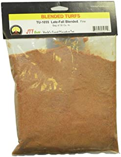JTT Scenery Products Blended Turf, Late-Fall Blended, Fine/30 Cubic Inch