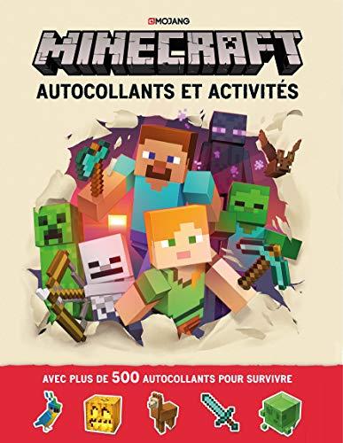 Minecraft : Autocollants et activités