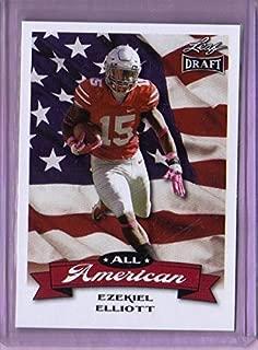 2016 Leaf Draft All American #6 Ezekiel Elliott - Rookie Year