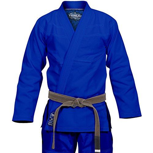 Venum Elite Classic Kimono BJJ Gi, Unisex Adulto, Azul, A1.5