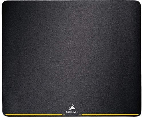 Corsair MM200 Alfombrilla de ratón para juego, superficie paño, tela, Tamaño Medio, Negro