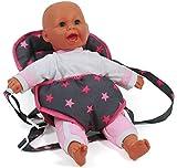 Bayer Chic 2000 782 82 Puppen-Tragegurt, Puppentrage, Sternchen pink
