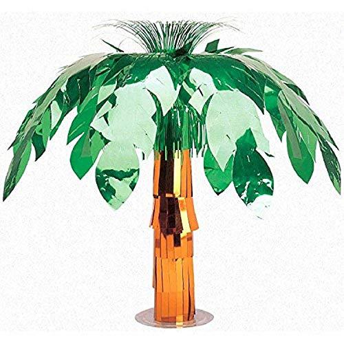 Amscan International 24211 50 cm hawaïen géant Foil Palm Tree Table