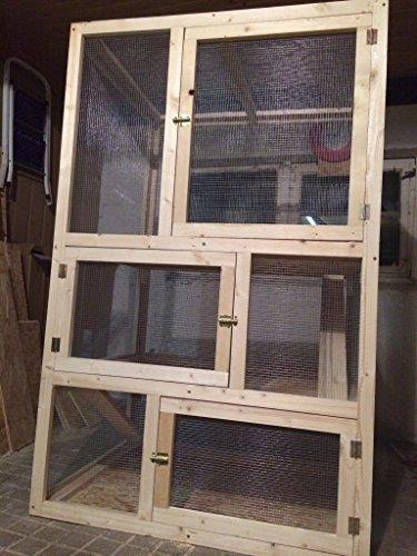 Andy´s Volierenbau Nagervoliere, für Hamster, Ratten, Mäuse. XXL