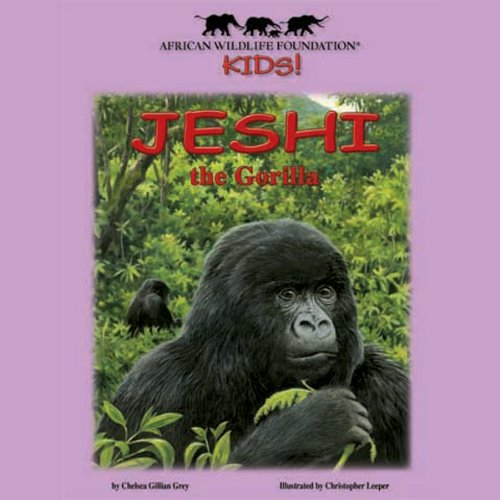 Jeshi the Gorilla audiobook cover art