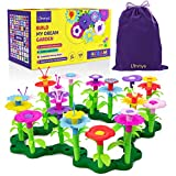 Limmys El Juguete para nias pequeas Build My Dream Garden de 105 Piezas  Juguete Stem educacional para nias de 3 aos y adelante  Incluye Bolsa para Guardar de Terciopelo con cordn.