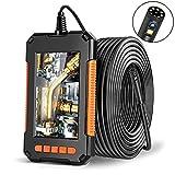 Best Inspection Cameras - DDENDOCAM Endoscope Inspection Camera Dual-Lens Endoscope 4.3'' Screen Review