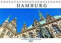 Hamburg - eine Bilderreise durch die Hansestadt (Tischkalender 2022 DIN A5 quer): fotografische Impressionen aus Hamburg (Monatskalender, 14 Seiten )