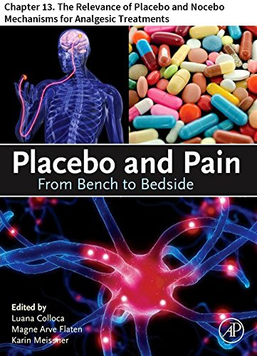 Placebo and Pain: Chapter 13. The Relevance of Placebo and Nocebo Mechanisms for Analgesic Treatments (English Edition)