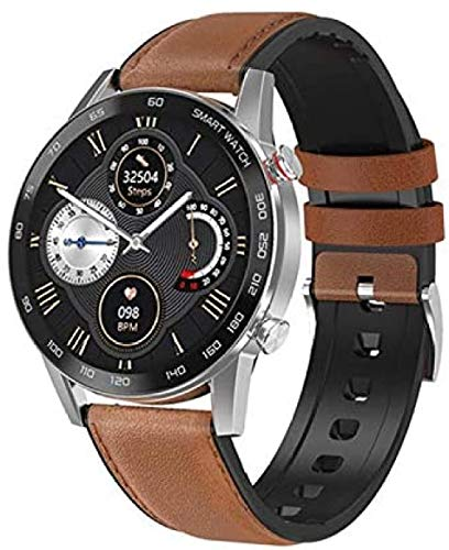 Smartwatch Bluetooth Llamada Smartwatch Hombres Mujeres Impermeable Deporte Fitness Pulsera Para Android Iphone-C