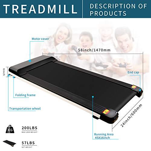 UMAY Portable Treadmill with...