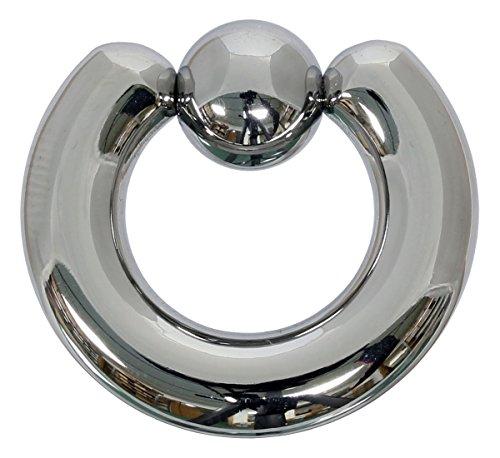 Pain-is-Art Klemmkugelring 6,0 x 12 mm aus 316L Chirurgenstahl - Piercing BCR Ball Closure Ring