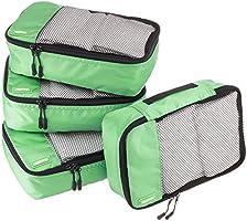 Amazon Basics Packing Cubes - 4 Piece Sets